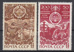 USSR - Michel - 1974 - Nr 4209 + 4256 - MNH** - Neufs