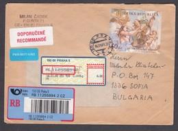 Czech Rep. - 15/2001, 50 Kc. - Art Of The Baroque, R-Letter Praha/Sofia - Czech Republic