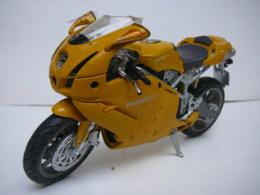 DUCATI  999 MOTO  1/12  LIRE ET VOIR !! - Motorcycles