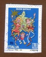 ITALIA 2018 Natale Soggetto Laico B Zona 1 Su Frammento - 2011-...: Usati