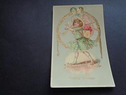 Enfant ( 4050 )  Kind  -  Carte Brillante - Enfants