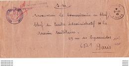 Lettre Poste Navale Aéronautique Navale De Grande Bretagne 1945 Première Classe Lefevre - Marcophilie (Lettres)