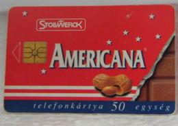 SCHEDE TELEFONICHE, CECOSLOVACCHIA, AMERICANA, PEANUTS, NOCCIOLINE, CIOCCOLATO - Tchécoslovaquie