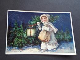 Enfant ( 4059 )  Kind  -  Carte Brillante - Autres