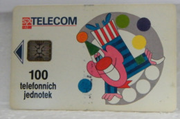 SCHEDE TELEFONICHE, PAGLIACCIO, CLOWN - Tsjechoslowakije