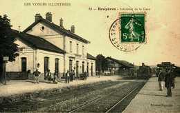 88  BRUYERES  LA GARE - Bruyeres