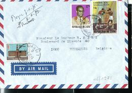 Lettre  De LIKASI Du 03/06/75 Pour Bruxelles  (Boxe (M. ALI Contre G. Foreman) - Zaïre