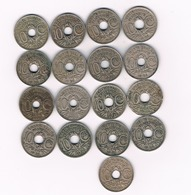 10 CENTIMES LOT 1918-1939 FRANKRIJK /8969/ - D. 10 Centimes
