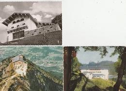 19 / 11 / 493. -    BERCHTESGADEN  -  3  C. P. M. -  MAISON. D' HITLER - Berchtesgaden