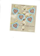 Saint-Valentin 2001. Feuillet N°33.  Lot De 5 Feuillets - Blocs & Feuillets