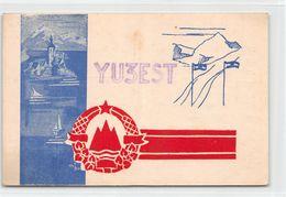 QSL Cards - YU 3 EST  Yugoslav Amateur Station - Yugoslavia - Slovenije - Sloveija - Radio Amatoriale