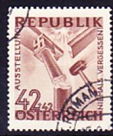 """Österreich Austria Autriche - Ausstellung """"Niemals Vergessen"""" (Mi.Nr. 781) 1946 - Gest Used Obl - 1945-.... 2nd Republic"""