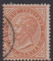 Italy S 17 1866 King Victor Emmanuel II,10c Buff, Used - 1861-78 Vittorio Emanuele II