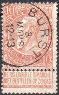 N° 57 Oblitération BURST - 1893-1900 Schmaler Bart