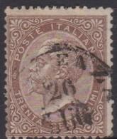 Italy S 19 1866 King Victor Emmanuel II,30c Brown, Used - 1861-78 Vittorio Emanuele II