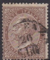 Italy S 19 1866 King Victor Emmanuel II,30c Brown, Used - 1861-78 Victor Emmanuel II.