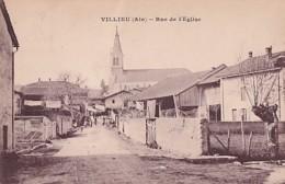 VILLIEU            RUE  DE L EGLISE - Autres Communes