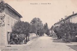 VILLIEU        GRANDE RUE  .    RESTAURANT DEPLATIERE - Autres Communes