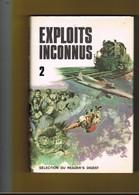 AVION-AVIATION. EXPLOITS INCONNUS 1 Et 2. (2 Volumes). 5 Euros Les Deux. - Avion