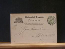 84/179  CP  BAYERN  1885 - Bavière