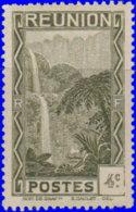Réunion 1933. ~  YT 127* - 4 C. Cascade De Salazie - Isola Di Rèunion (1852-1975)