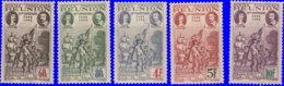 Réunion 1943. ~  YT 180/85* - Rattachement à La France - Isola Di Rèunion (1852-1975)