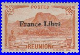 Réunion 1943. ~  YT 196* - France Libre. Salazie - Unused Stamps