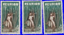Réunion 1947. ~  YT 265* Par 3 - 50 C. Plantation - Réunion (1852-1975)