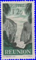 Réunion 1947. ~  YT 269* - 1 F. 20 Vue - Réunion (1852-1975)