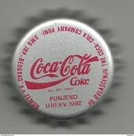 COCA COLA Crown  Cap From  Yugoslavia 1992. - Soda