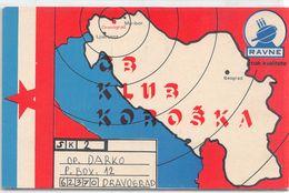 QSL Cards - SK 2  - , Yugoslavia, Slovenije - Slovenija -  Dravograd - Ravne - Radio Amateur