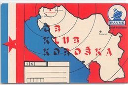 QSL Cards - 1 K   - , Yugoslavia, Slovenije - Slovenija -  Dravograd - Ravne - Radio Amateur