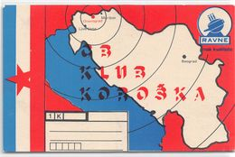 QSL Cards - 1 K   - , Yugoslavia, Slovenije - Slovenija -  Dravograd - Ravne - Radio Amatoriale