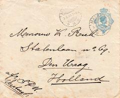 3 5 26  Envelop G45 Van Malang Naar Den Haag - Nederlands-Indië