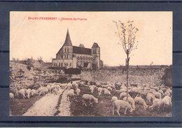60. Saint Leu D'esserent. Chemin De Pierre. Angle Haut Gauche Abimé - France