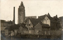Belgique. CPA. OUDENAARDE. AUDENARDE. La Cathédrale, 1918. Scan Du Verso. - Oudenaarde