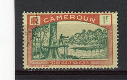CAMEROUN - Y&T Taxe N° 11° - Abattage D'un Acajou - Cameroun (1915-1959)