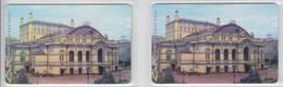 UKRAINE 1998 OPERA THEATRE 2 DIFFERENT CARDS - Ukraine