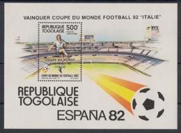 Togo - 1983 - Bloc Feuillet BF N°Yv. 173 - Football / WM Espana 82 - Neuf Luxe ** / MNH / Postfrisch - Togo (1960-...)