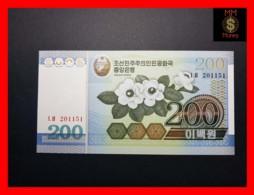 KOREA NORTH 200  Won  2005  P. 48  UNC - Korea, North