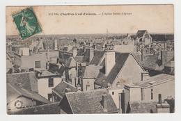 AC291 - CHARTRES - à Vol D'oiseau - L'Eglise Saint Aignan - Chartres