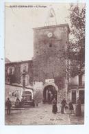 Cpa -13 - Saint- Jean- De- Fos -  L'horloge  1929 - Autres Communes