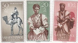 Spanish Sahara 1959 Stamp Day, Sports, Mint Never Hinged - Sahara Espagnol