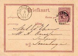 9 11 1883 Bk G 1 Van Malang Naar Soerabaja - Nederlands-Indië