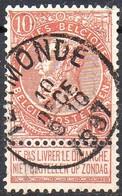 N° 57 Oblitération TERMONDE - 1893-1900 Schmaler Bart