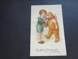 Enfant ( 4113 )  Kind  -  Thème :  Jouets  Jouet  Beer   Teddy Bear - Spielzeug & Spiele