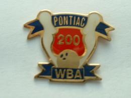 PIN'S BOWLING - PONTIAC WBA 200 - Bowling