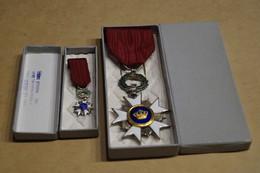 Décoration Militaire,grande Et Petite,superbe état De Collection,RARE - Medaglie