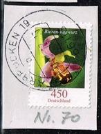 Bund 2015,Michel# 3191R O Blumen: Bienen-Ragwurz Mit Nummer 70 Auf Papier - BRD