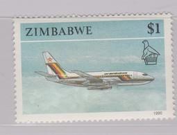 Zimbabwe S 630 1990 Transports,$ 1.00 Jet, MNH - Zimbabwe (1980-...)